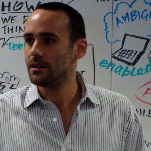 Antoine Viornery designer and facilitator
